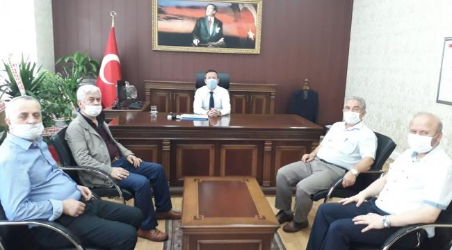 AK PARTİ'DEN KAYMAKAM GÖRMÜŞ'E 'HAYIRLI OLSUN' ZİYARETİ