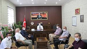 MHP'DEN KAYMAKAMA 'HAYIRLI OLSUN' ZİYARETİ