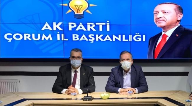 """""""SUNGURLU İÇİN ÇALIŞMALARIMIZA DEVAM EDECEĞİZ"""""""
