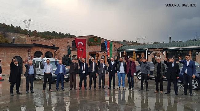 MHP ÇORUM TEŞKİLATLARI, DEVLET BAHÇELİ'NİN EMRİNDE..
