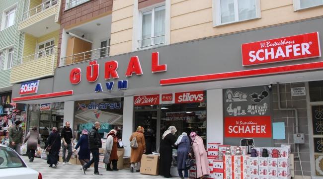 GÜRAL AVM HİZMETE GİRDİ AÇILIŞA ÖZEL İNDİRİMLER VAR..