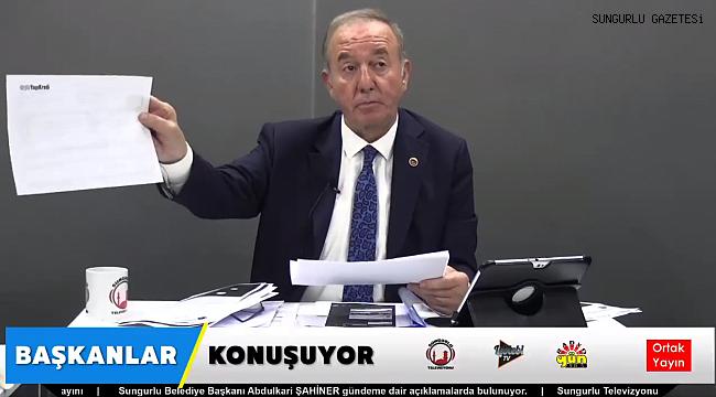 SIKI DUR ÇORUM, ŞAHİNER GELİYOR!