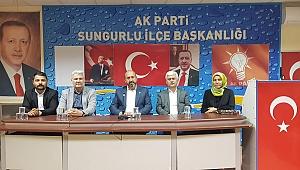 """""""SUNGURLU'DA BELEDİYEYİ TEKRAR KAZANACAĞIZ"""""""